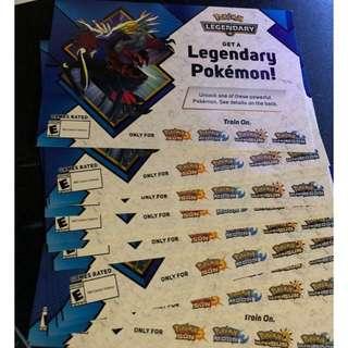 Pokémon Xerneas and Yveltal code