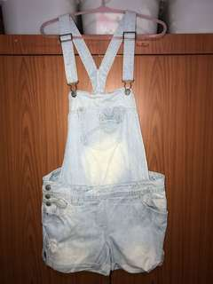 new look denim overalls