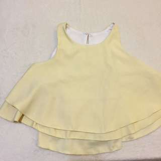 Top Baby Yellow