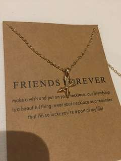 friendship friends necklace