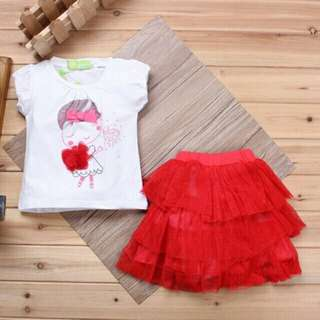 *FREE DELIVERY to WM only / Ready stock* Kids tutu 2pc dress each as shown design/color. Free delivery applied for this item.