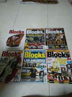 Blocks building collection and customising your lego