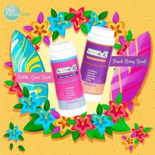 Alpha K 5X Whitening Face & Body Powder 50SPF