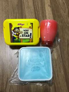 Lunch Box & cup