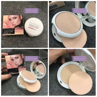 MAYBELLINE SUPERSTAY DOUBLE FACE POWDER