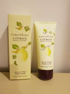 Crabtree & Evelyn Body Scrub