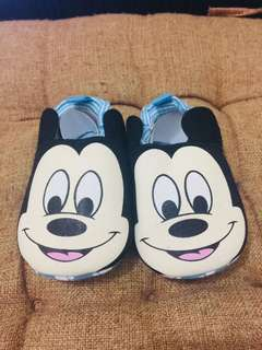 Brand New Mickey Mouse Baby Boy Shoes