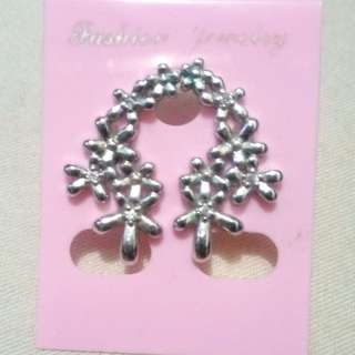 Earrings Korean Silver
