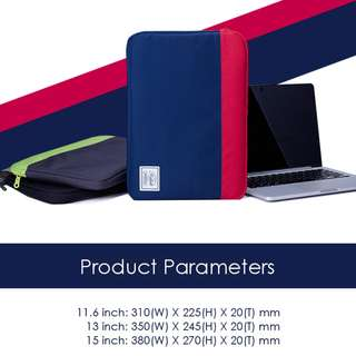 STYLISH LAPTOP SLEEVE WITH THICK INNER PADDING