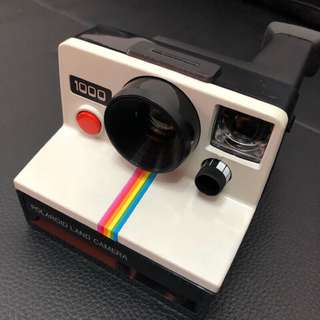 經典寶麗來銘機 Polaroid sx-70 白🌈彩虹拍立得