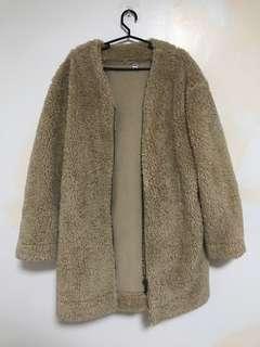 Uniqlo Fur Coat