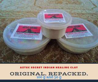 50g Original Aztec Secret Indian Healing Clay (5 ON HAND!)