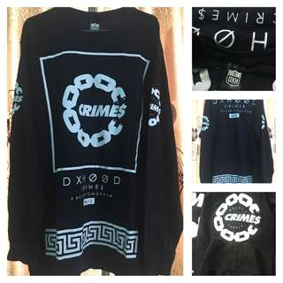 DXHOOD ORIGINAL LONGSLEEVE BLACK
