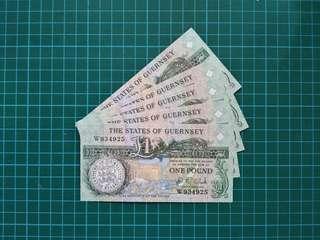 GUERNSEY 1 Pound 1991 UNC