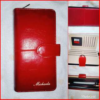 Original Bnew Michaela Red Wallet