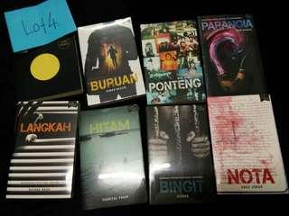 Novel Fixi Bertandatangan Penulis Lelong Murah 8 buku RM100 Lot 4 Bertandatangan Penulis