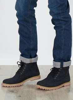 Men Alaskan Boots Black