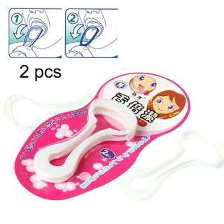 Tongue Cleaner / Scraper x 2 pcs