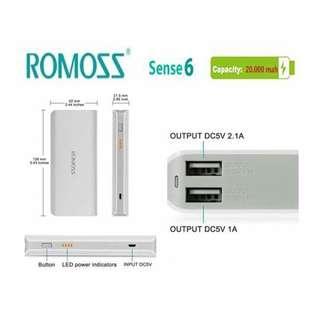 Romoss powerbank class a