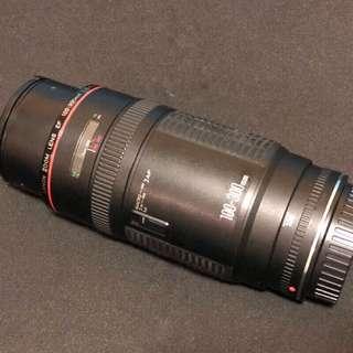 🚚 達人嚴選 本日特賣 Canon EF 100-300 f5.6 L Canon 螢石鏡 紅圈L鏡群中的大黑
