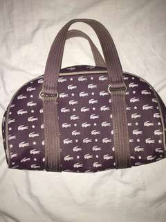 Auth Lacoste Hand Bag