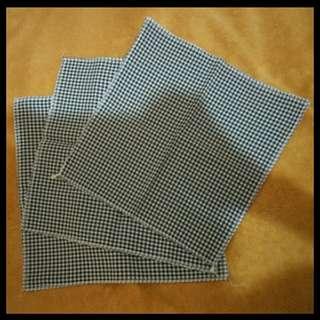 Checkered handkerchief