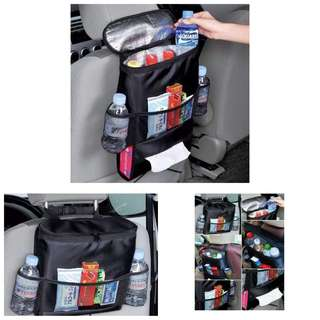 Car Back Seat Organizer with Cooler