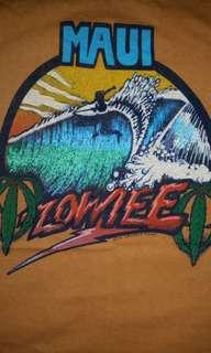 Vintage 70s 1976 Hawaii Maui Wowiee pocket t-shirt