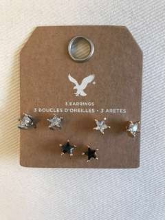 American Eagle Outfitters crystal earrings