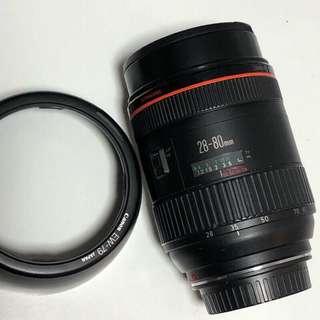 🚚 達人嚴選 Canon 28-80 L 首代鏡皇 二代鏡皇28-70/2.8 L ; 三代鏡皇24-70/2.8 L可參考
