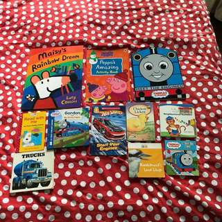 Kids books 3-7 years (mix of new and old)