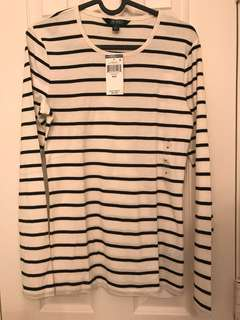 Ralph Lauren cotton stripe tee Ralph Lauren 純棉間條丅恤