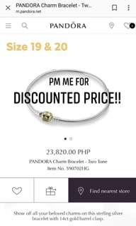 Pandora Two-Tone Charm Bracelet
