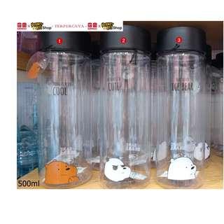Japan Quality - Botol Minum We Bare Bears Miniso - Water Bottle