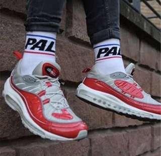 Palace men's high socks