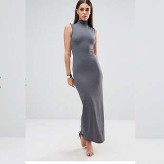 Sportsgirl Grey Midi Dress