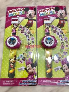 Mickey Projector watch for children party goodies favors, goodie bag gift