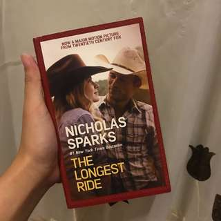 The Longest Ride book by Nicholas Sparks
