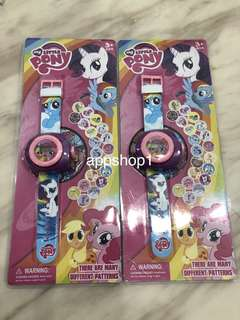 Children projector watch (pony) - birthday party goodies bag, toy, door gifts