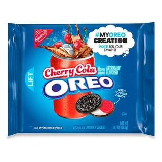 Oreo Cherry Cola Chocolate Sandwich Cookies (preorder)