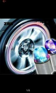 Tire valve led light fits all type of cars,  motorcycles and bicycle