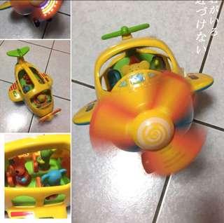 🚚 韓國🇰🇷 聲光效果✈️ 多種音樂  接近新品  音樂切換 安全螺旋槳  安全玩具符合國際標準  非夜市商品可以比擬的❤️超質感