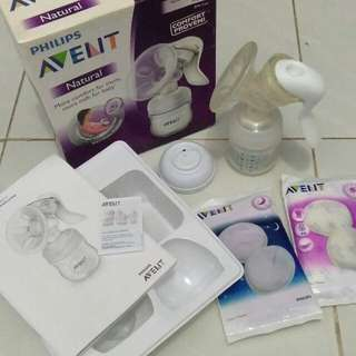 Pompa asi manual Avent Philips natural