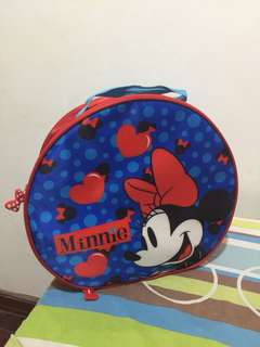 Minnie mouse round bag