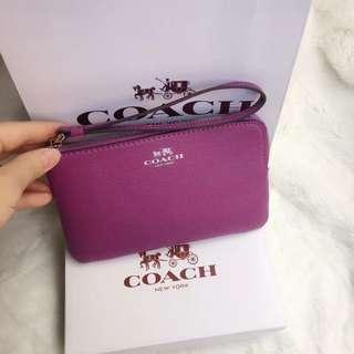 Coach 新款手掌紋58032小零錢包