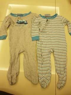 Sleepsuit set of 2
