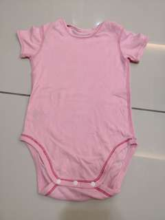 Uniqlo Plain Romper(12-18m)