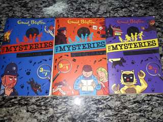 Enid Blyton Mysteries collection