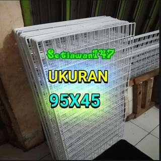 Kawat ram aksesoris ukuran 95X45cm