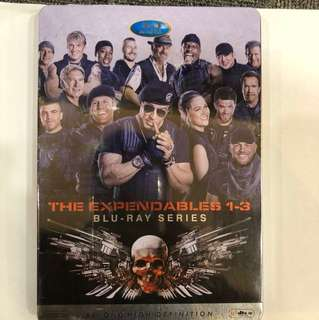 The Expendable 1-3 :  Blu Ray